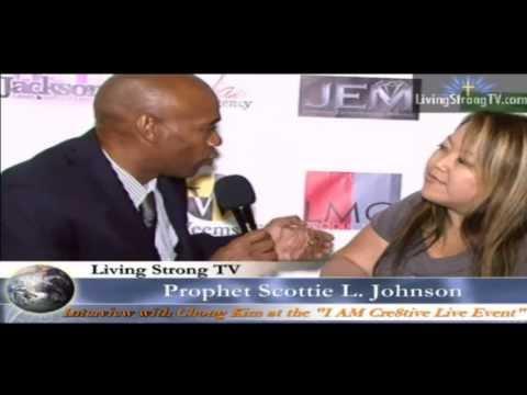 "Living Strong TV "" Interview w/ Chong Kim Human Traffick Victim"" at I am Cre8tiv Live  10/02/13"