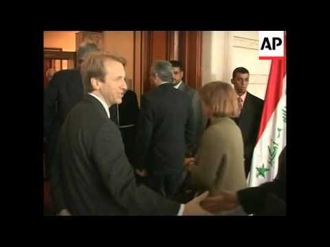 Senator Kerry meets Iraqi PM and US Ambassador