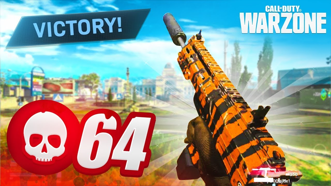 NEW RECORD! 64 KILL GAME in CoD WARZONE! (Best Classes / Loadouts)