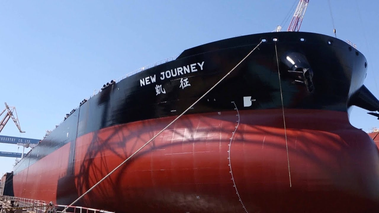 "China Delivers ""Smart"" VLCC"
