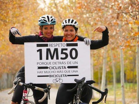 Respeto al ciclista 1m50