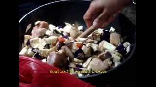 Eggplant Chicken Stew