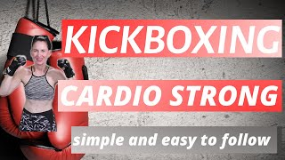 35 MINUTE WORKOUT | BASIC KICKBOXING ROUTINE| CARDIO KICKBOXING |WEIGHT LOSS ROUTINE| AT HOME CARDIO