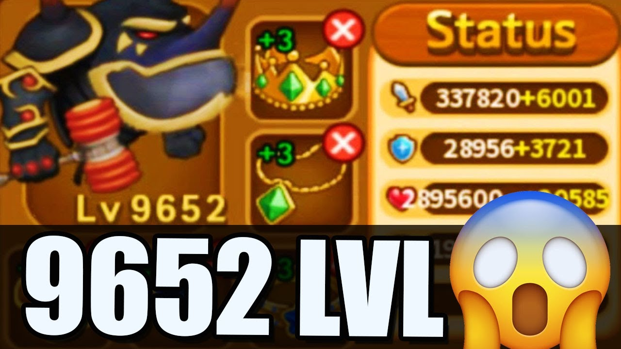 LARVA Heroes Dungeon mode 99 WAVES 😱 9652 LVL 😜