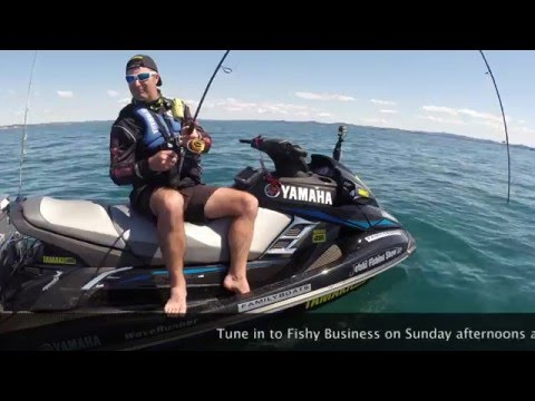 Fishy Business Jetski Fishing 2016