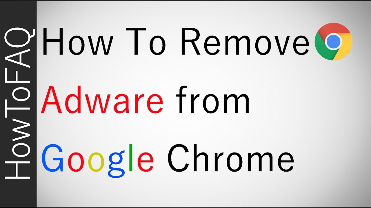 How To Remove Adware Adwcleaner Get Rid Of Chrome Ads Extension Fix 2017 Quick Free Cheap Youtube