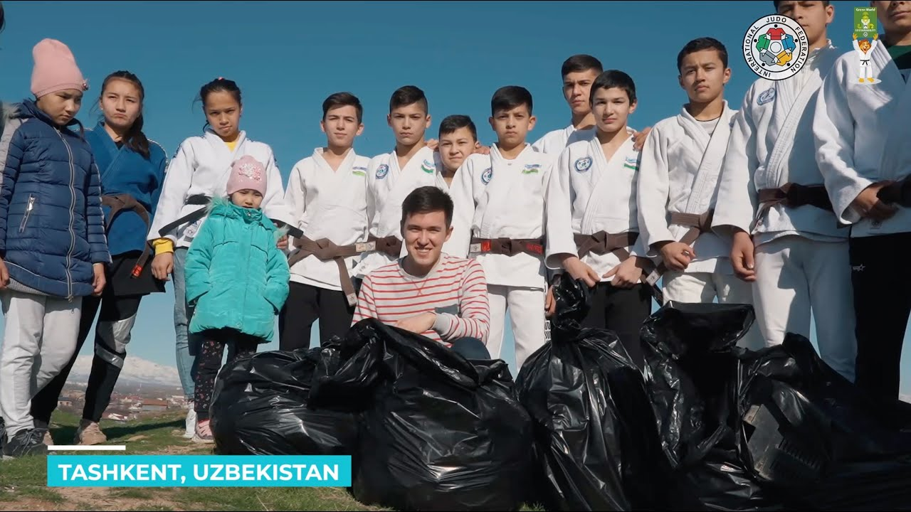 Be a Climate Champion: Challenge 1, Clean your environment - UZB