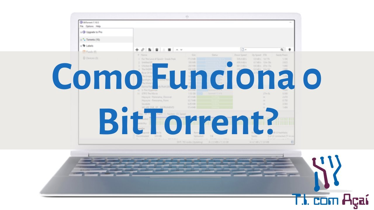 Como Funciona o BitTorrent?