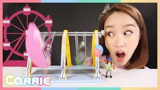 캐리의 플레이 모빌 어린이 바이킹 장난감 놀이 CarrieAndToys