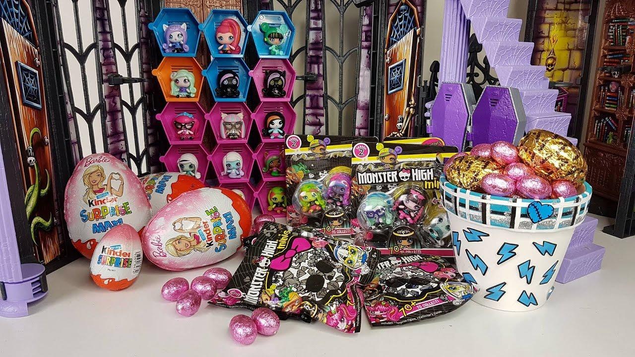 Monster High Minis Season 2 Blind Bag Opening Youtube