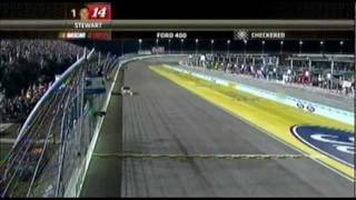 2011 Ford 400 Finish @ Homestead - Tony Stewart Wins Race & Championship (Interviews Included)