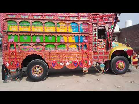 BedFord Beautiful Pakistani Truck