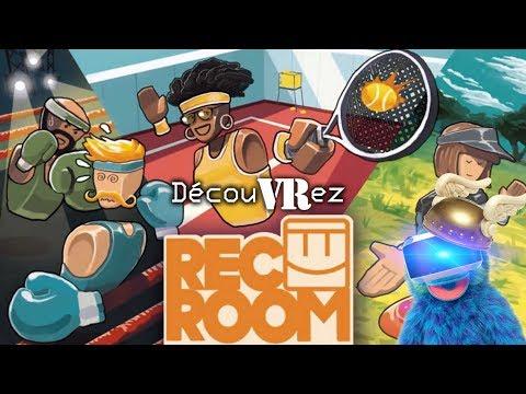 DécouVRez : Rec Room (PSVR) | Beta Privée | Premiers Pas en LIVE