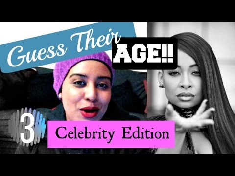 Guess the Celebrity Ages - Golden Carers