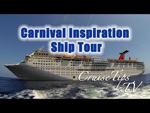 Carnival Inspiration Ship Tour - CruiseTipsTV