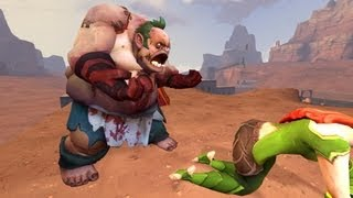 Time to Pudge - # 3 выпуск.  Pudge  vs outworld devourer  на миде!))