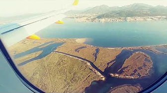 Sardaigne 2018  -  vole avion Genève Olbia -  la lune - 3.8.18