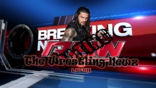 vuclip The Wrestling Newz - 26 Avril 2016 - WWE RAW(Rating ) -Lucha Underground - Roman Reigns
