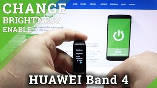 How to Change Brightness in HUAWEI Band 4 Pro – Customize Screen Light