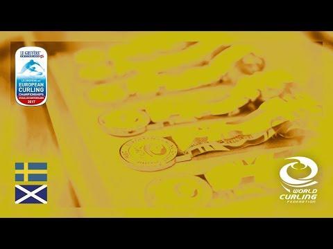 Sweden v Scotland - Women's Gold medal - Le Gruyère AOP European Curling Championships 2017