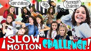 📸 SLOW MOTION challenge con nuestros amigos YOUTUBERS 🎄 RETO a CÁMARA LENTA y ¡Abrazo Épico! 🙌🏻