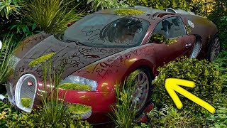 EXPENSIVE ABANDONED CARS THAT WERE FOUND IN GARBAGE!