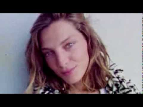 Up close with Daria Werbowy for Isabel Marant x H&M