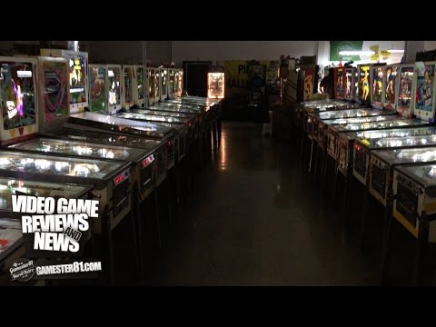 Over 150+ pinball machines at the Pinball Hall of Fame! - Gamester81