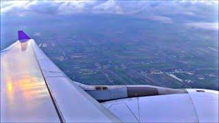 Thai Airways Airbus A330-343   Bangkok to Phuket *Full Flight*