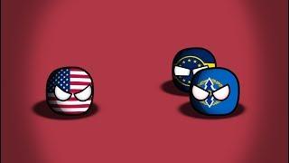 видео: CountryBalls | | Прошлое Европы с 1991 года | 9 серия 1 сезон | Начало Глобального Конфликта