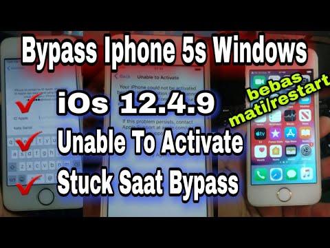 Cara Bypass Iphone 5s Ios 12 4 9 12 5 Windows Iphone Tidak Dapat Diaktifkan Unable To Activate Youtube