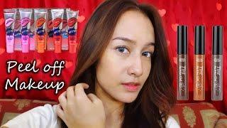 Peel Off Makeup // Vionitta Wijaya