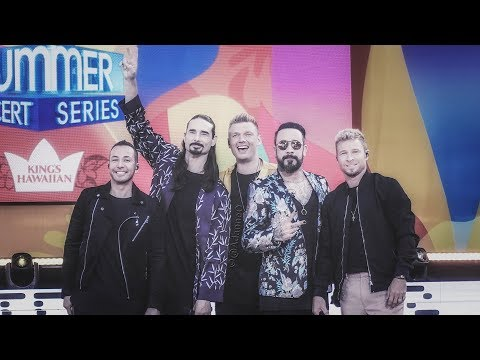 Backstreet Boys LIVE: Good Morning America Summer Concert Series 2018