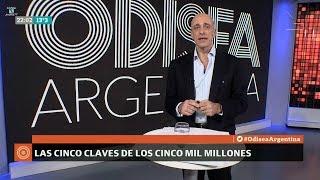 """📡 Editorial de Carlos Pagni """"Las 5 claves de los 50 mil millones"""", en """"Odisea Argentina"""" - 11/06/18"""