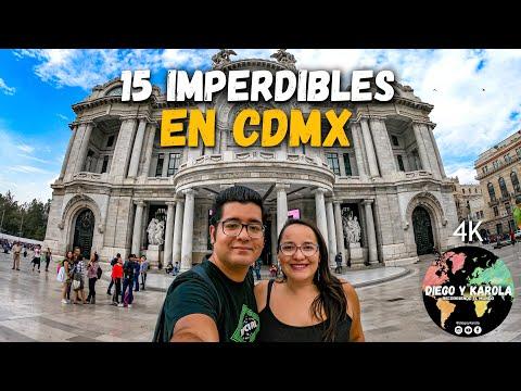 15 LUGARES Y ACTIVIDADES IMPERDIBLES EN CIUDAD DE MÉXICO #CDMX 4K