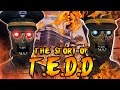 The Story of T.E.D.D TRANZIT BUS DRIVER SECRETS Call of Duty Black Ops 2 Zombies Storyline