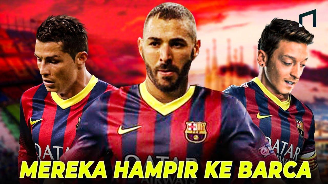 Mengejutkan! 5 Pemain Bintang Yang Pernah Ditolak FC Barcelona