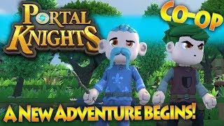 Portal Knights Multiplayer - Episode 1 - A New Adventure Begins [Co-op   1.5   HD]