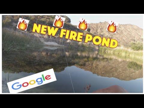 GOOGLE MAPS FISHING CHALLENGE Exploring Ventura County Backwoods For Untouched HIDDEN POND