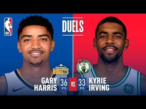 Download Youtube: Kyrie Irving (33 Pts) and Gary Harris (36 Pts) Duel in Boston | December 13, 2017