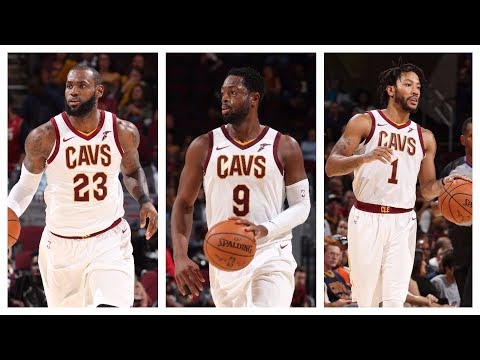 Best Of LeBron James, Dwyane Wade & Derrick Rose From The 2017 NBA Preseason