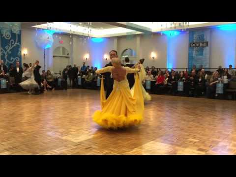 Professional International Ballroom : Tango –  2016 Snow Ball DanceSport Competition