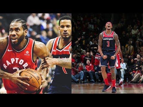 Toronto Raptors vs Washington Wizards - Full Game Highlights - 01/13/2019