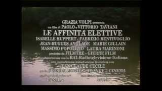 LE AFFINITA' ELETTIVE   TRAILER