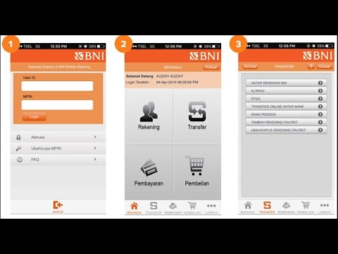 Cara Bayar Speedy Via Bni Mobile Banking - YouTube