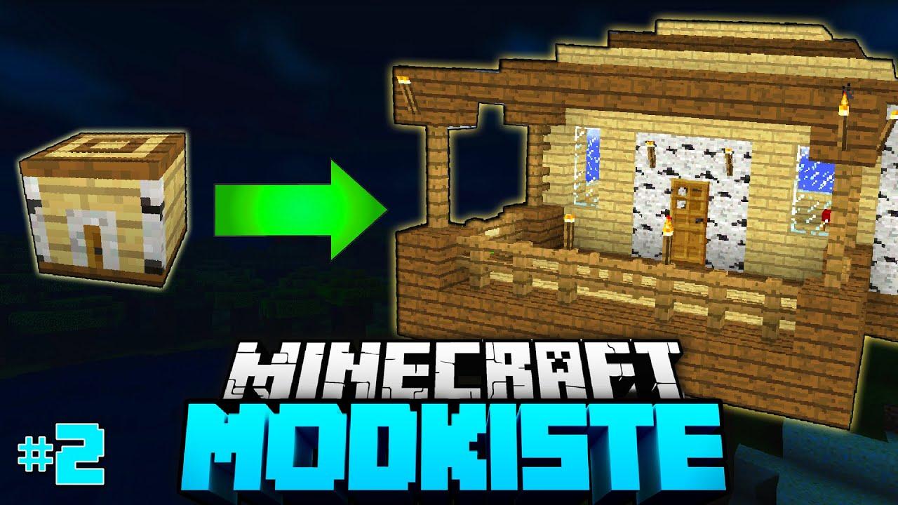 Schnellster hausbau ever minecraft modkiste 02 deutschhd youtube