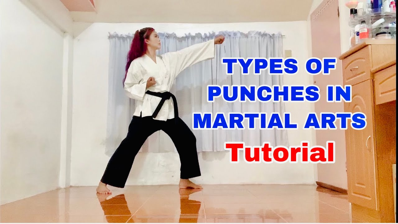 7 TYPES OF PUNCHES IN MARTIAL ARTS_Tutorial