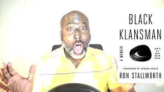 Black Klansman (movie trailer reaction)