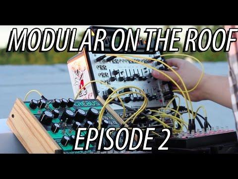Modular on the Roof 2  Dreadbox Erebus and Intellijel Atlantis sequenced with Korg SQ1