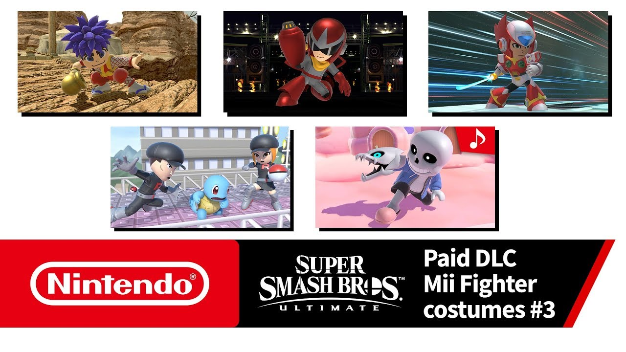 Super Smash Bros  Ultimate - Mii Fighter Costumes #3 (Nintendo Switch)